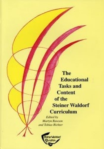 the tasks and content of the steiner-waldorf curriculum pdf