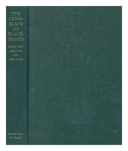 The Landscape of Place-names (1900289253) by Gelling, Margaret; Cole, Ann