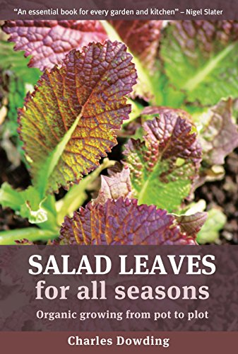 9781900322201: Salad Leaves for All Seasons: Organic Growing from Pot to Plot