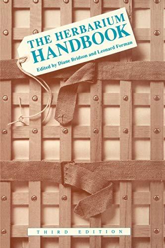 The Herbarium Handbook: D. Bridson