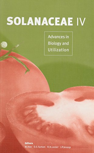 Solanaceae IV: advances in biology and utilization: M Nee