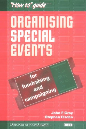 9781900360562: Organising Special Events: For Fundraising and Campaigning (