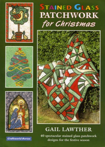 9781900371803: Stained Glass Patchwork for Christmas