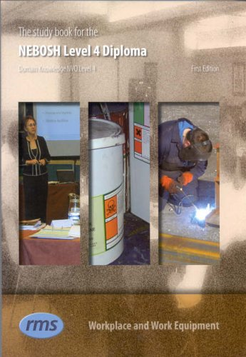 9781900420617: The Study Book for the NEBOSH Level 4 Diploma in Occupational Health and Safety Practice: Level 4: Workplace and Work Equipment