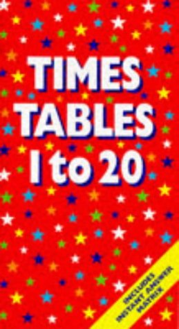 9781900465380: Times Tables: 1-20 (Counting)