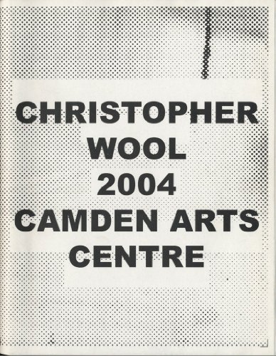 9781900470315: Christopher Wool 2004