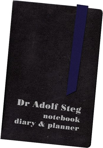 9781900486675: Dr Adolf Steg: Notebook, Diary & Planner