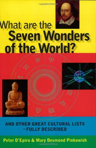 9781900512770: What are the Seven Wonders of the World?: And Other Great Cultural Lists - Fully Described