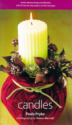9781900518635: Candles (Decorating Workbooks)