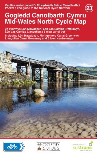 9781900623421: Mid-Wales North Cycle Map (National Cycle Network Route Maps)