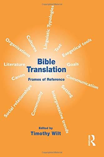 9781900650564: Bible Translation: Frames of Reference