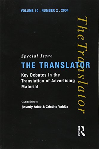 9781900650809: Key Debates in the Translation of Advertising Material: Special Issue of the Translator (Volume 10/2, 2004) (Translator S)