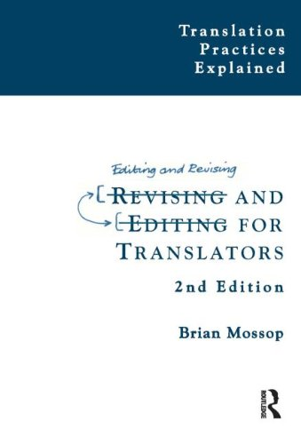 9781900650960: Revising and Editing for Translators
