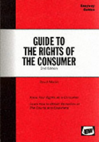 Guide to the Rights of the Consumer: Marsh, David