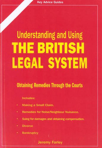9781900694537: Understanding and Using the British Legal System (Straightforward Guides)