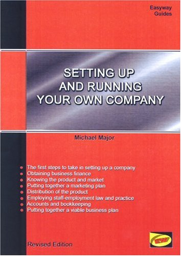 9781900694933: Setting Up And Running Your Own Company New Edition Oct 2010: Easyway Guides