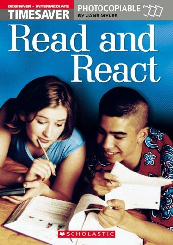 9781900702188: Read and React (Beginner - Intermediate) (Timesaver)