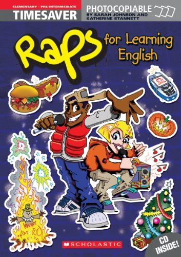 9781900702218: For Learning English with audio CD (Elementary/Prery/Pre-Intermediate) (Timeaver Raps!)