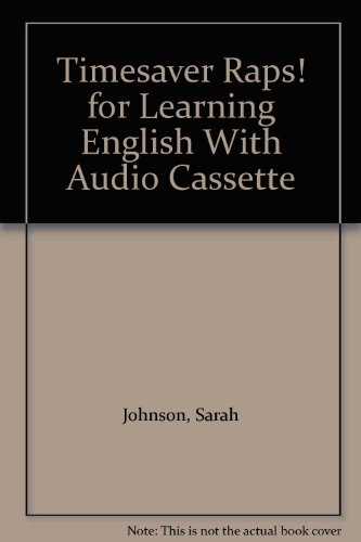 9781900702485: For Learning English with audio cassette (Timeaver Raps!)