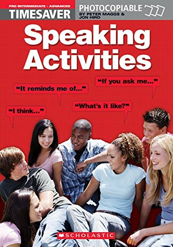 9781900702638: Speaking Activities Pre-intermediate - Advanced (Timesaver)