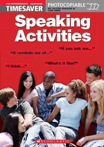 Speaking Activities Pre-intermediate - Advanced: Jon Hird, Peter