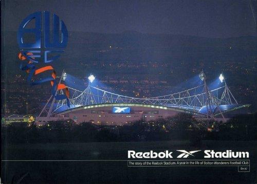 9781900722032: Reebok Stadium, Bolton