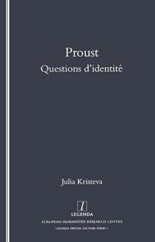 9781900755085: Proust: Questions D'Identite