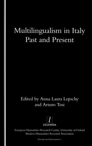 9781900755788: Multilingualism in Italy: Past and Present (Studies in Linguistics, 1)