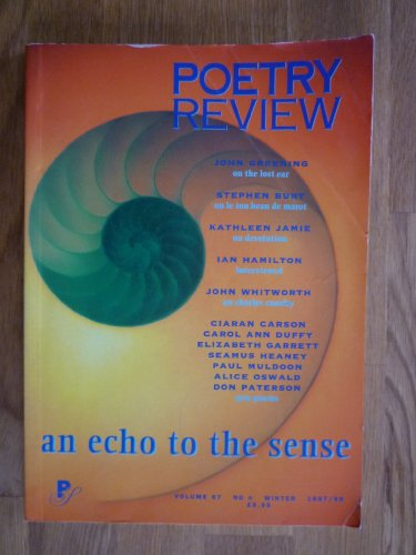 Echo to the Sense (Poetry Review)