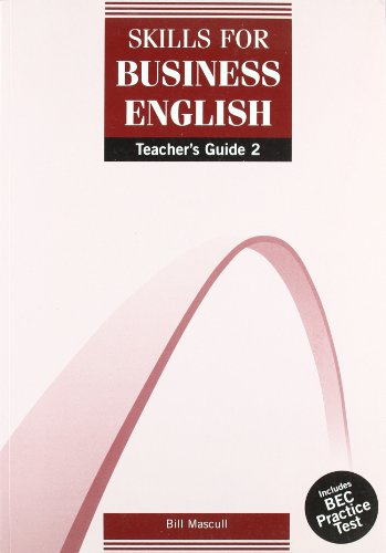 9781900783446: DBE: Skills for Business English Teachers Guide 2