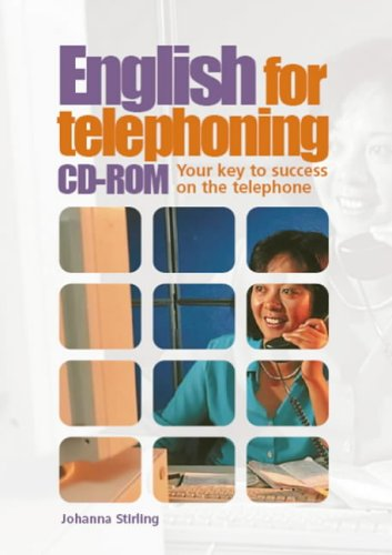 9781900783828: ENGLISH FOR TELEPHONING CDR SINGLE USER(9781900783828)