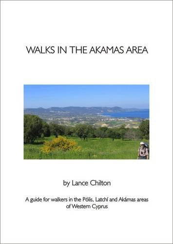 9781900802970: Walks in the Akamas Area and Walkers' Map