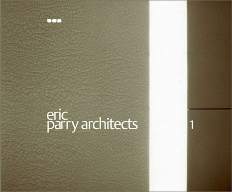 9781901033038: Eric Parry Architects: Volume 1