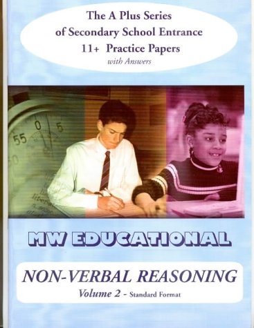 9781901146516: Non-verbal Reasoning: 11+ Practice Papers with Answers v.2: 11+ Practice Papers with Answers Vol 2 ('A' Plus)