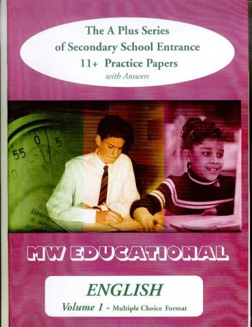 9781901146578: English (Standard Format): with Answers: The A Plus Series of Secondary School Entrance 11+ Practice Papers (v. 2)