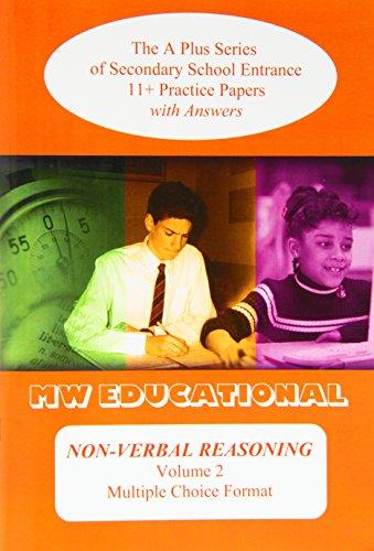 Non-verbal Reasoning (volume No) Multiple Choice Format: Chatterton, Mark