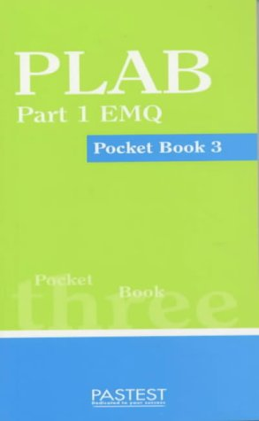 9781901198706: PLAB Part 1 EMQ Pocket Book: Book 3