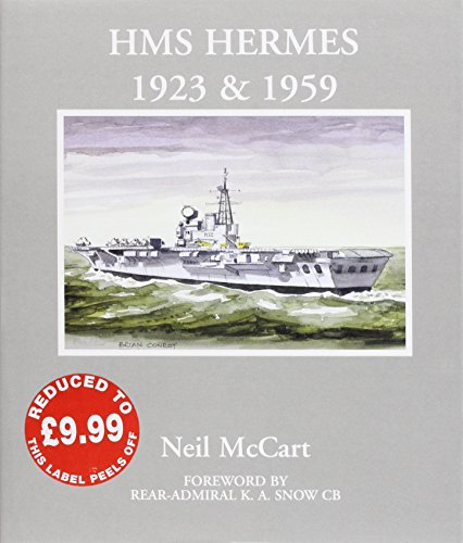 HMS  Hermes  1923 and 1959 9781901225051 Dustjacket. Many photo ill.