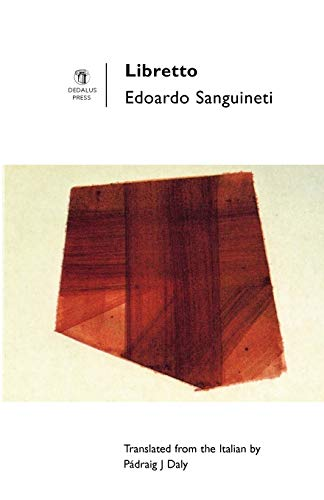 Libretto (Poetry Europe S) (1901233200) by Sanguineti, Edoardo; Sanguineti, Edorado