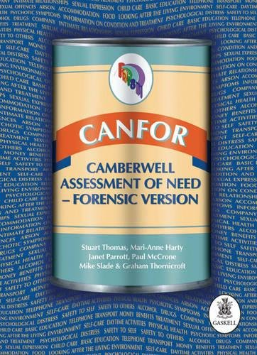 9781901242980: CANFOR: Camberwell Assessment of Need - Forensic Version