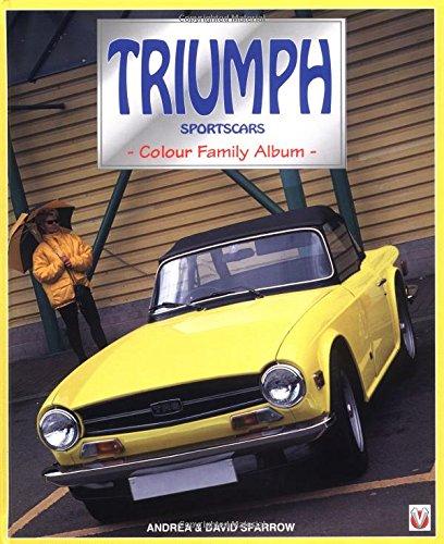 9781901295276: Triumph Sports Cars Colour Family Album (Colour Album Series)