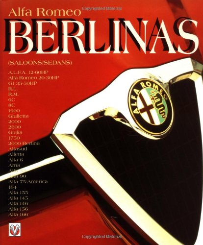 9781901295740: Alfa Romeo Berlinas (Saloons/Sedans) (Car & Motorcycle Marque/Model)
