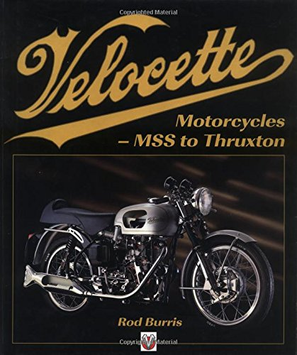 9781901295788: Velocette Motorcycles