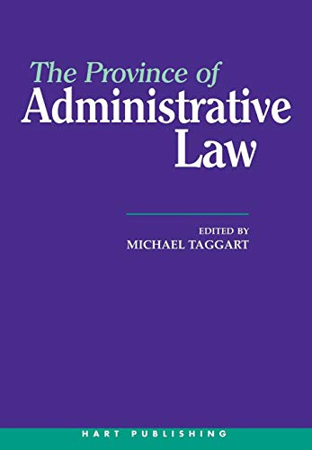 9781901362015: The Province of Administrative Law