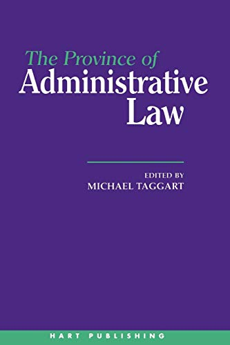 9781901362022: The Province of Administrative Law