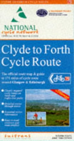 9781901389067: Clyde to Forth Cycle Route: Official Route Map (National cycle network)