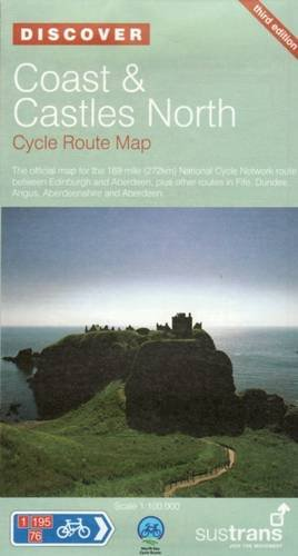 Coast and Castles North - Sustrans Cycle Routes Map: Sustrans Official Cycle Route Map and ...