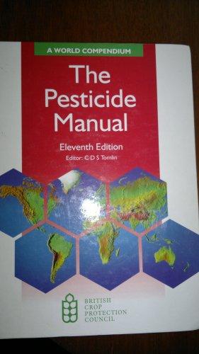 the pesticide manual a world compendium abebooks rh abebooks com