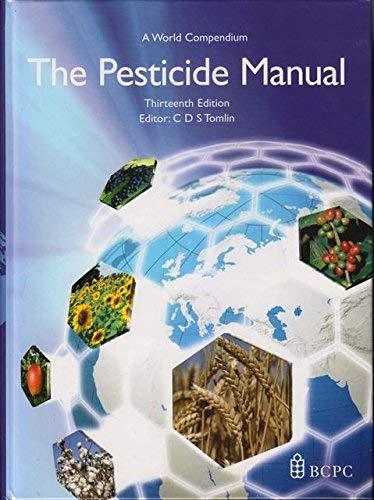 the pesticide manual a world compendium abebooks rh abebooks com the pesticide manual 15th edition pdf