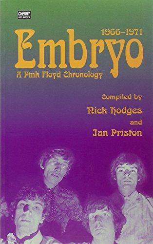 9781901447071: Embryo: A Pink Floyd Chronology 1966-1971